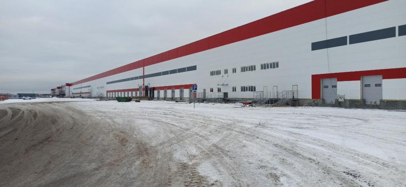 Главгосстройнадзор проверил строящийся склад в Домодедове
